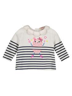 Baby girls' fancy collar smock GIBLEBRA / 19WG0991BRA001