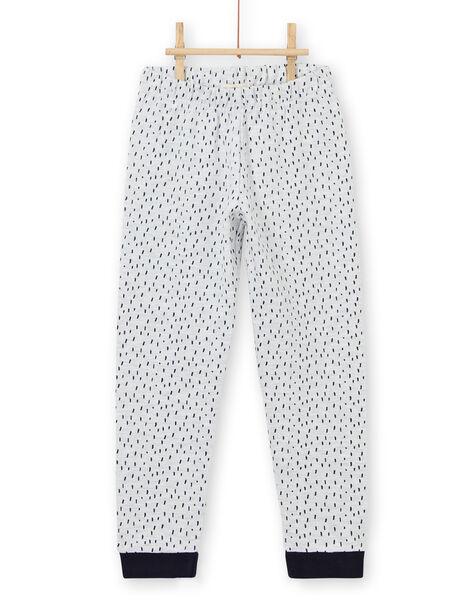 Children's boy's pajamas in brushed fleece with monster motif LEGOPYJMON / 21SH1212PYJJ920