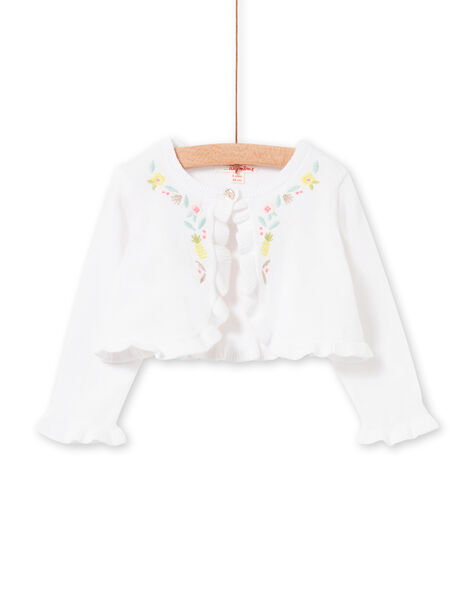 White vest and sky baby girl LIBALCAR / 21SG09O1CAR000