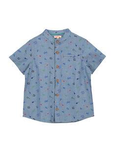 Boys' short-sleeved shirt FOCACHEM / 19S902D1CHM704
