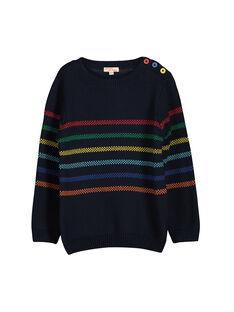 Boys' knit sweater FOCOPUL / 19S90281PUL705