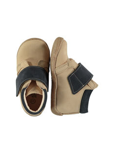 Baby boys' smart leather boots. FBGBOTHER / 19SK3841D0F080