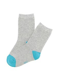 Boys' mid length socks CYOJOCHO2B / 18SI02R4SOQJ908