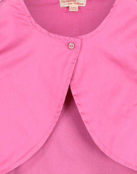 Girls' bolero cardigan FAROCARDI / 19S901S1CAR322