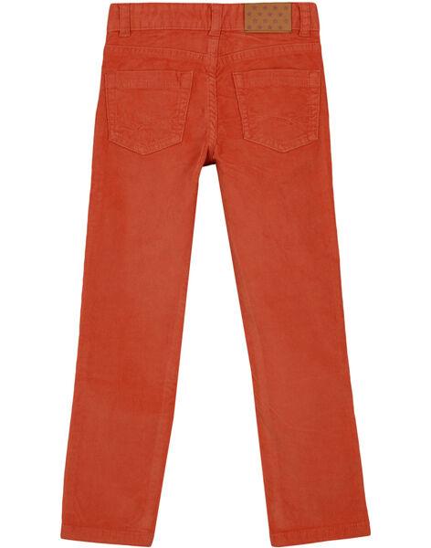 Dark orange Pants GOJOPAVEL8 / 19W902L5D2B408