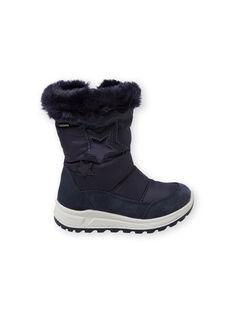 Navy Mountain boots GFMONTSTAR / 19WK35W1D3M070