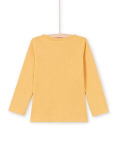 Yellow T-SHIRT MAJOYTEE5 / 21W90125TMLB106