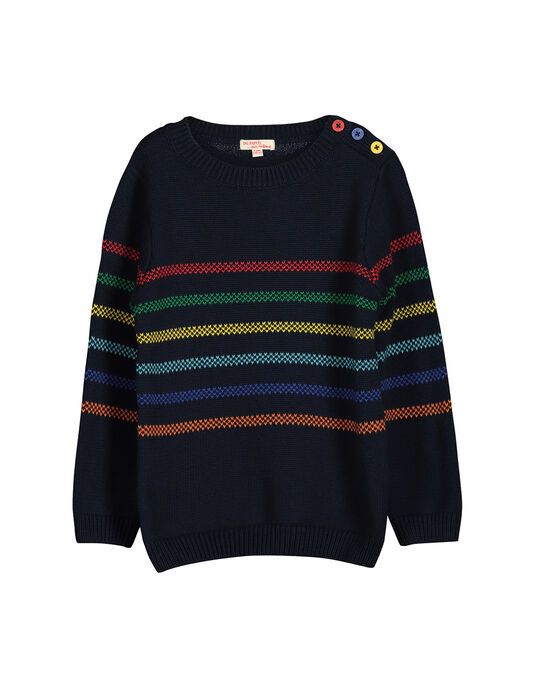 Boys' knit sweater FOCOPUL / 19S90281PUL705