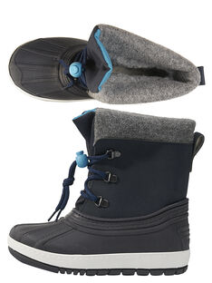 Navy Mountain boots GGMONTGI / 19WK36W1D3N070