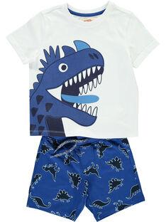 Boys' T-shirt and shorts set FOPLAENS4 / 19S902P4ENS000