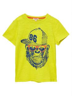 Sunny yellow T-SHIRT JOJOTI5 / 20S90241D31102