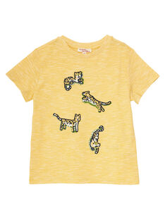 Light yellow T-shirt JOTROTI2 / 20S902F2TMCB116