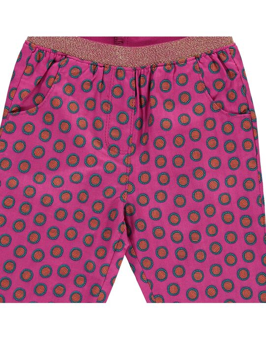 Multicolor pants CIGAUPAN / 18SG09L1PAN099