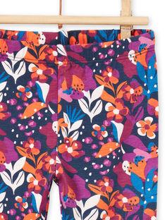 Baby girl's colorful flower print legging MYIPALEG1 / 21WI09H2CALD319