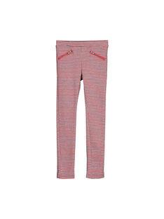 Girls' jacquard Milano trousers FACOPANT / 19S90181PAN099