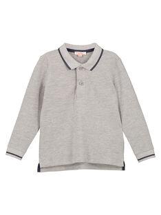 Grey Polo shirt GOJOPOL3 / 19W90232D2DJ922