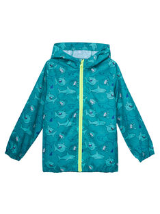 Dark Turquoise Jacket JOGROKA2 / 20S902I2BLOC217