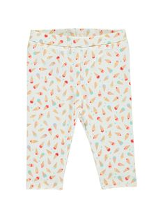Baby girls' leggings CYIBULEG / 18SI09K1CAL099