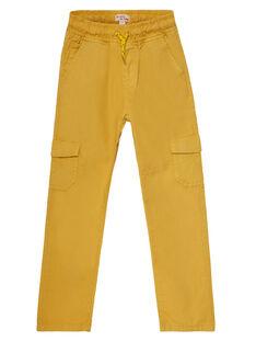 Light yellow Pants JOJOPAMAT3 / 20S90251D2BB116
