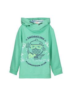 Light green Sweat Shirt FONESWE / 19S902B1SWE602