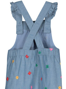 Baby girls' dungarees FICOSAL / 19SG0981SAL704