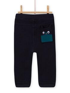 Baby boy's night blue jogging suit MUTUPAN2 / 21WG10K2PANC234