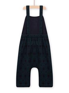 Baby boy dark blue overalls MUTUSAL2 / 21WG10K1SALC234