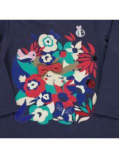Baby girls' long-sleeved T-shirt CIDETEE2 / 18SG09F2TML705