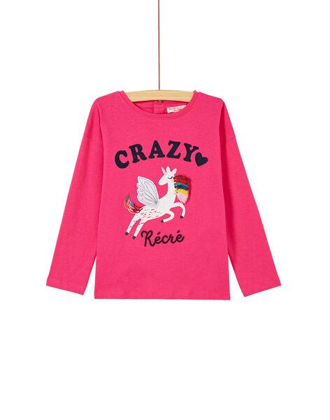 Pink T-SHIRT KARETEE2 / 20W901G5TMLD320