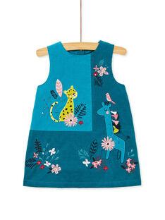 Dark Turquoise DRESS KIBRIROB3 / 20WG09F3ROBC217