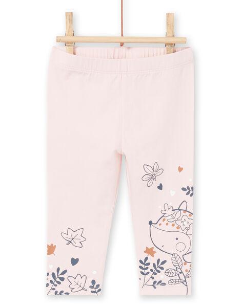 White blouse and pink leggings fancy print birth girl MOU1ENS2 / 21WF0341ENS001