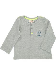 Baby boys' long-sleeved T-shirt CUJOTUN2 / 18SG10R4TMLJ906