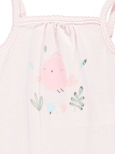 Girls' strappy bodysuit CCFBODY2 / 18SF03C1BOD301