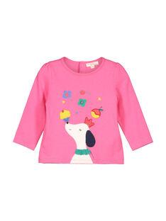 Baby girls' long-sleeved T-shirt FICOTEE / 19SG0981TML030