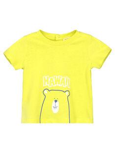 Baby boys' short-sleeved T-shirt FUJOTI10 / 19SG10G3TMCB105