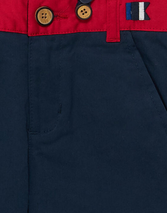 Navy pants JOWEPANT / 20S90291PAN705