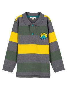 Grey Polo shirt GOJAUPOL / 19W902H1POLJ921