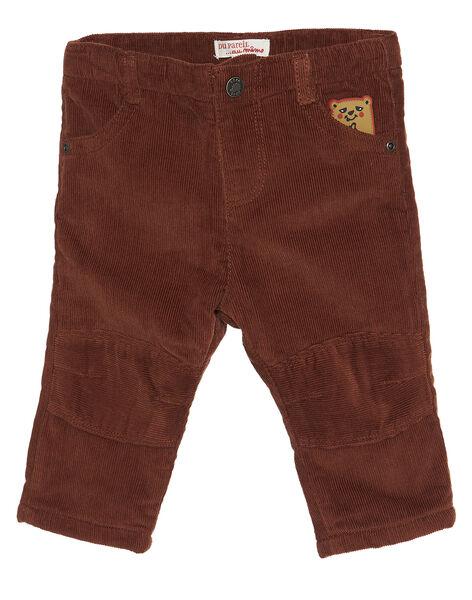 Light brown pants GUBRUPAN2 / 19WG10K2PAN809
