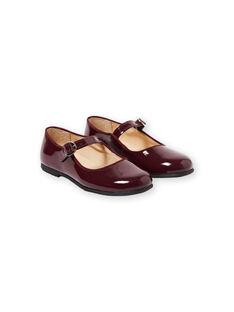 Burgundy Salome shoes GFBABRIDEL / 19WK35I5D13719