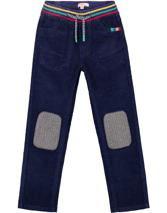 Navy pants GOMUPAN2 / 19W902F1PAN070