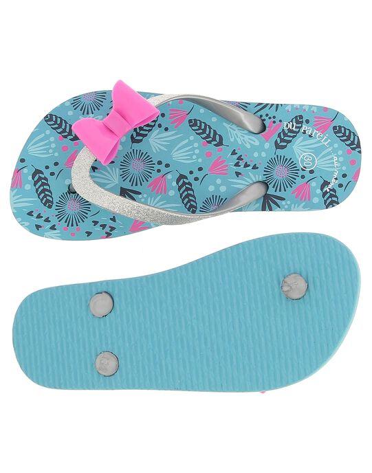 Turquoise Beach flip flops CFTONGBOW / 18SK35Z2D01202