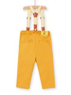Yellow PANTS LUBALPAN / 21SG10O1PAN117