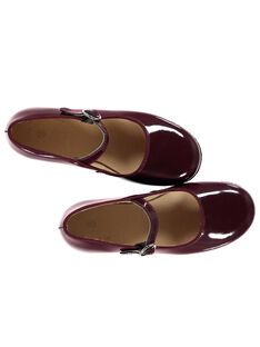 Burgundy Salome shoes GFBABRIDEL / 19WK35I5D13719