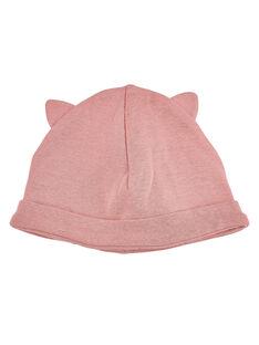 Pink Newborn cap JOU1BON2 / 20SF40J1BNAD301