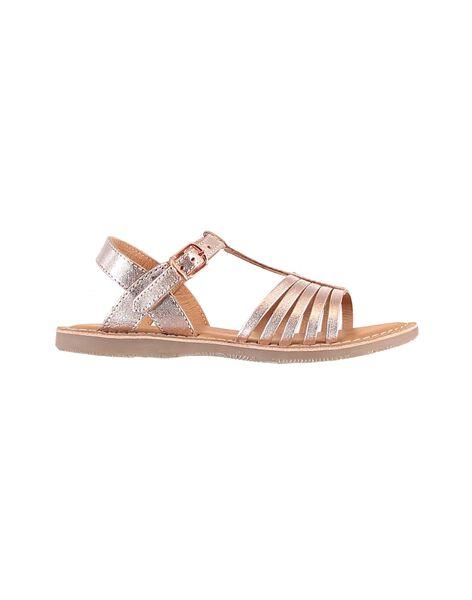 Pink gold Sandal JFSANDOLIR / 20SK35ZCD0EK009