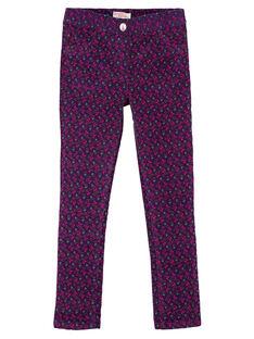 Purple pants GAVIOPANT / 19W901R1PAN708