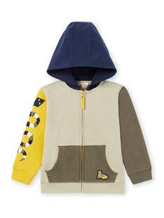 Boy's color block hoodie MOKAGIL / 21W902I1GIL612
