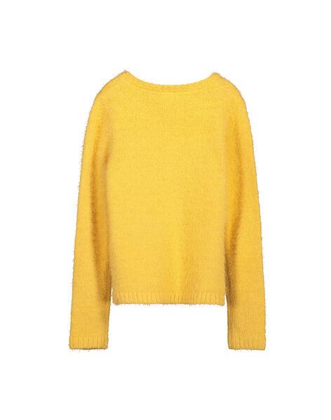 Girls' mohair cardigan FALICAR1 / 19S90121CAR113
