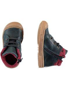 Navy Sneakers GBGBASBOU / 19WK38X1D3F070