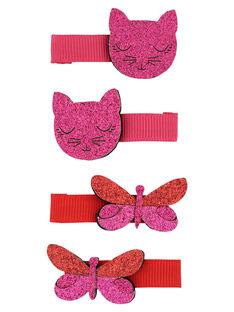 Set of girls' hair clips FYABACLIC1 / 19SI01V8BRT099